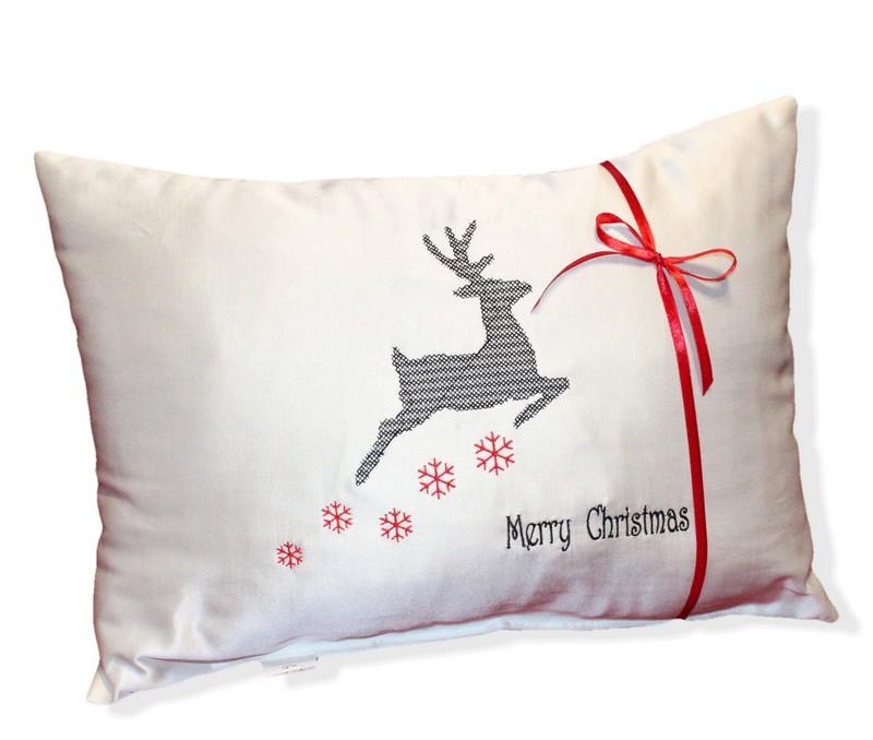 Poduszka świąteczna Na Boże Narodzenie Mikołaja Dekoracyjna