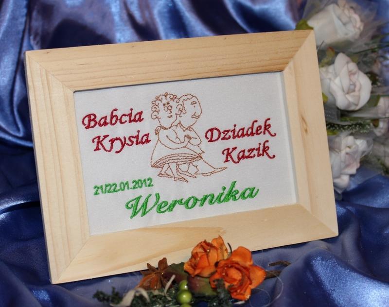 Imieniny Dla Babci w Ramce|prezent Dla Babci i