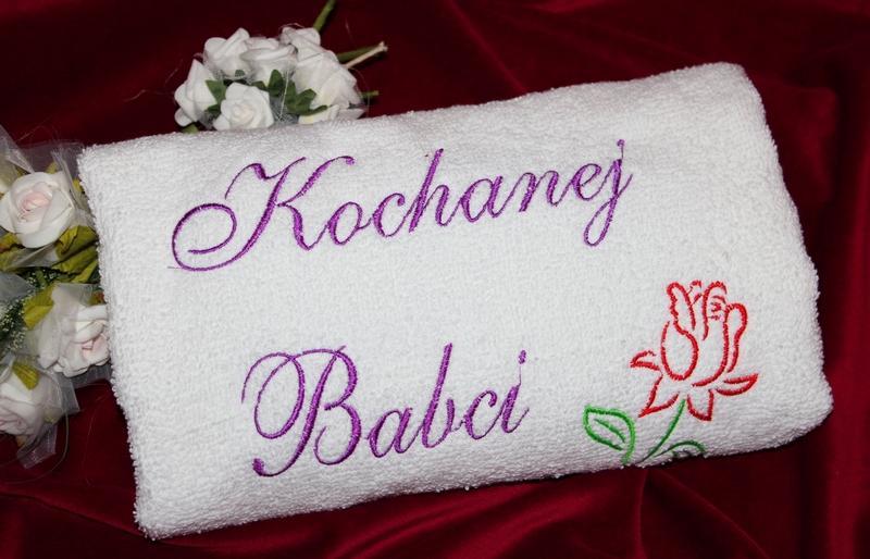 Imieniny Dla Babci Ręczniki|prezent Dla Babci i